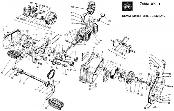 Demm Parts « Myrons Mopeds