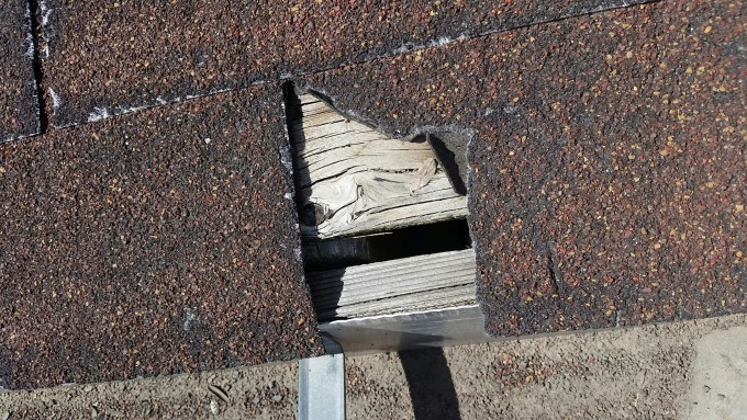 Exceptional Denver Roof Repair U2013 Hole In Roof