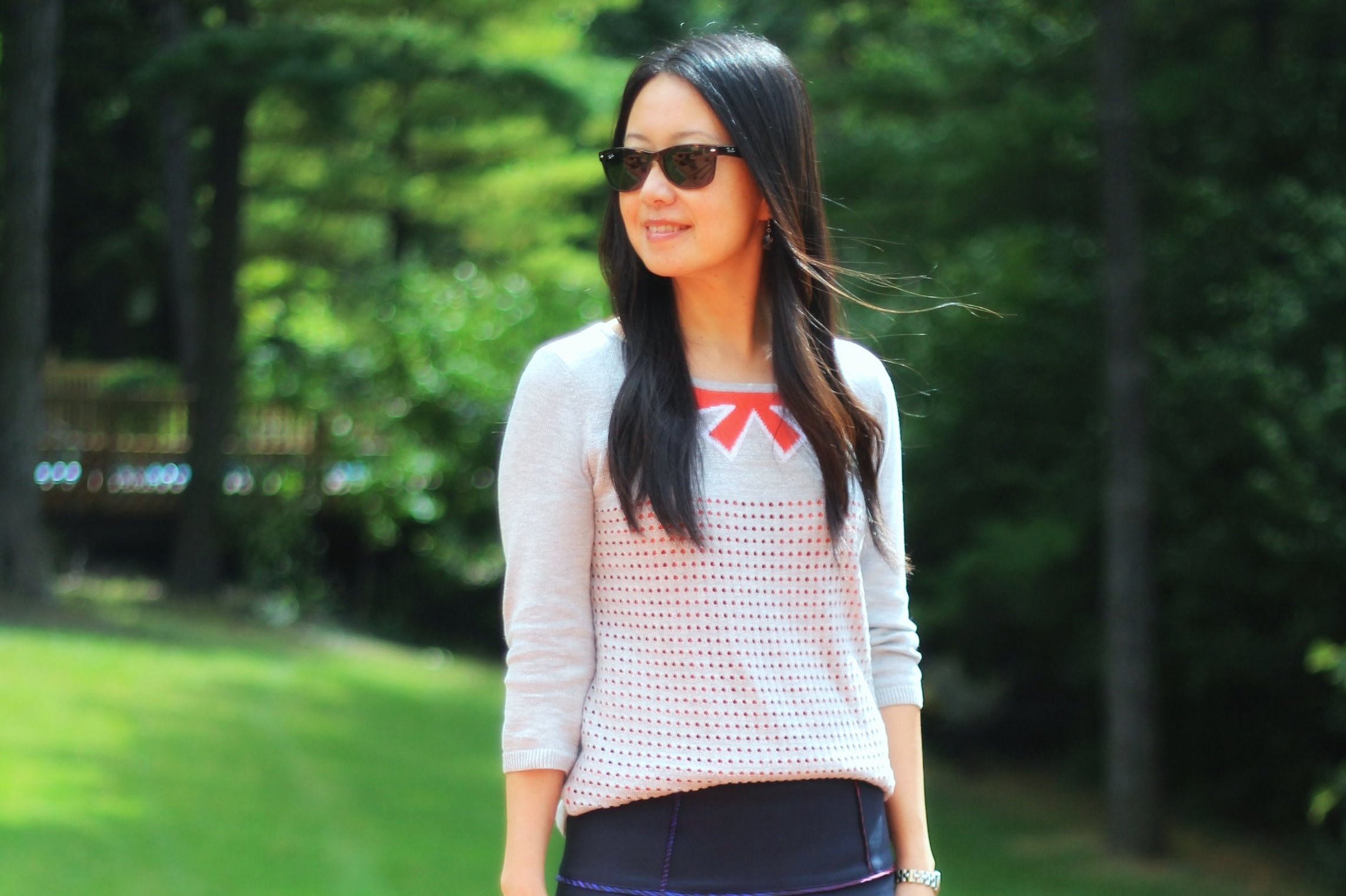 Outfit Highlight: The 40-Year-Old School Girl?