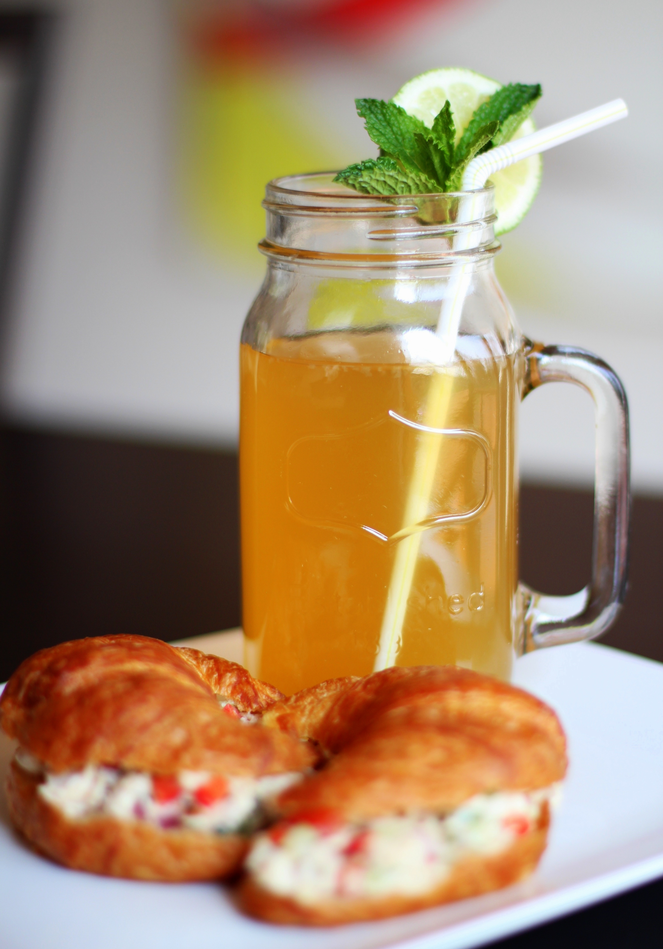 Recipe Highlight: Jalapeño Chicken Salad and Mint Lime Iced Tea
