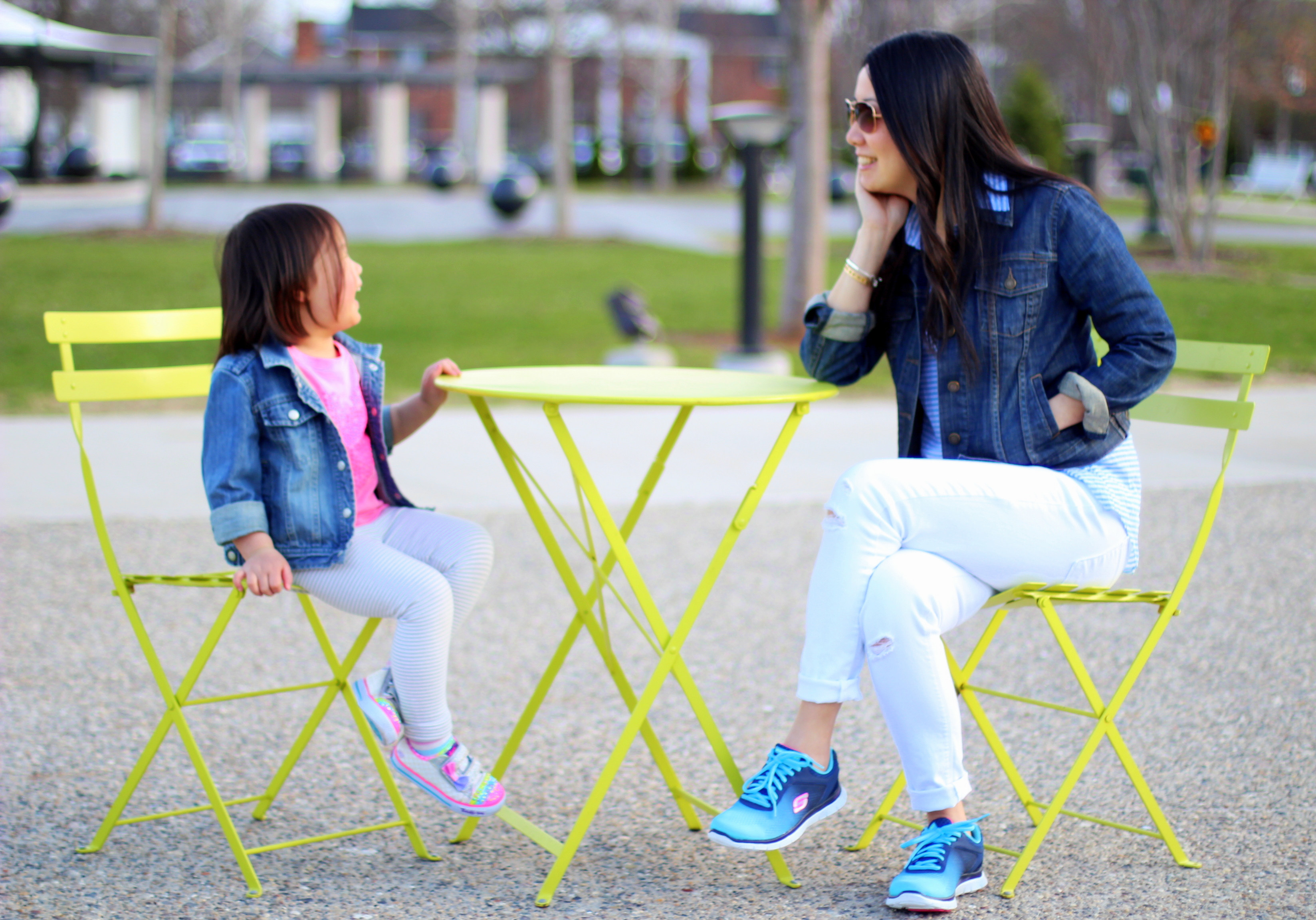 Me + Mini Me + New Kicks = Whole Lot of Fun