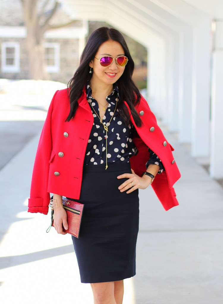 Outfit Highlight: Foxy Polka Dots