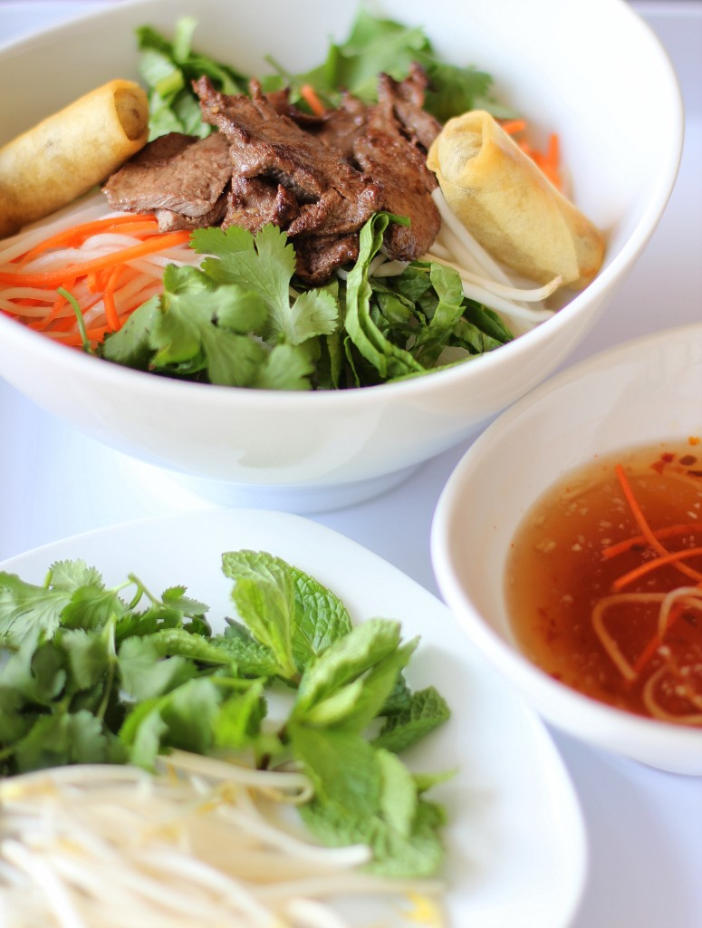 Recipe Highlight: Vietnamese Rice Noodle Bowl (Bun Thit Nuong)