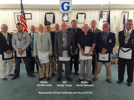 50-yr (Tharpe, McCrackin, Clemmons)