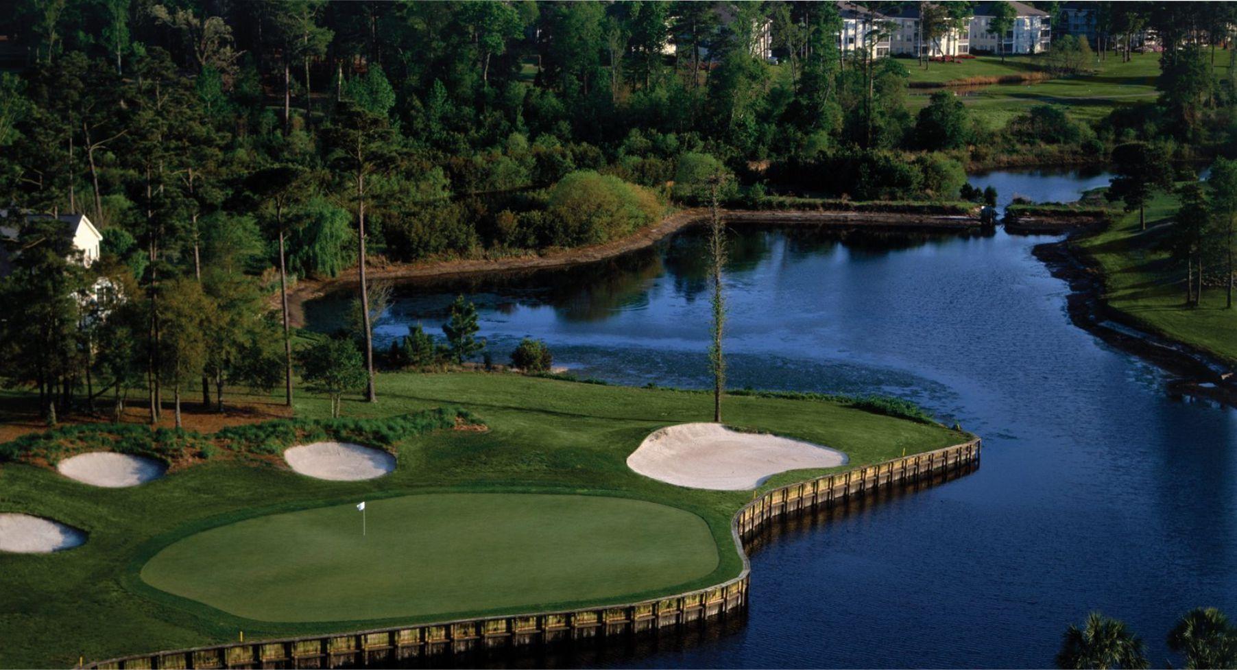 Sea Trail Byrd Golf Course  North Carolina Golf Course