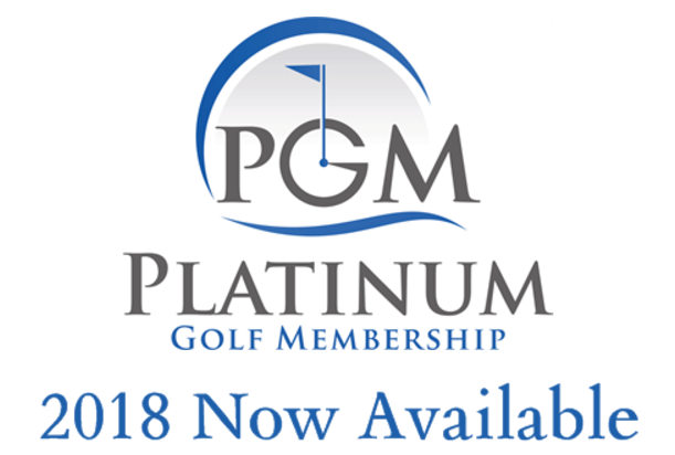 Platinum Golf Memberships - 2018