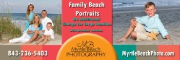 Myrtle Beach Family Beach Portraits