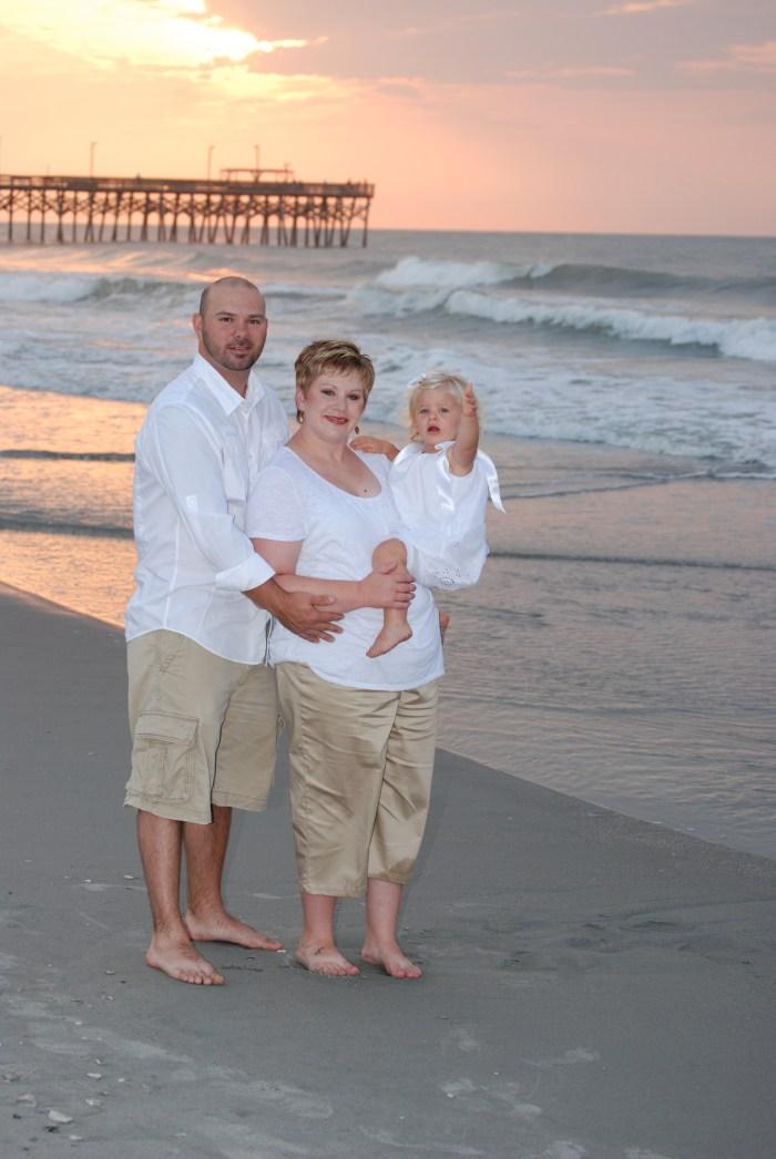 Myrtle Beach portraits springmaid pier