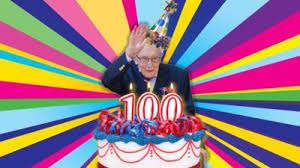 Happy 100th birthday Captain Tom from Myrtle Park Primary
