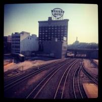 My run view 8/24/13 - Downtown Kansas City, Mo.