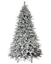 Weekly Steal 10ft Flocked Christmas Tree