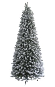 Weekly Steal 12 ft King Flocked Christmas Tree