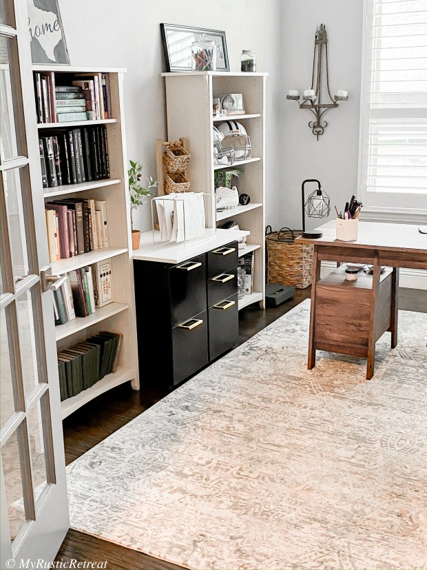 Easy and Cheap DIY Office Refresh