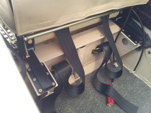 small resolution of seat belt anchor loops rear bench velco and seat heater wiring