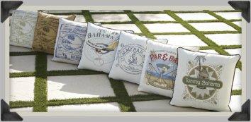 Tommy Bahama Pillows add a coastal flair anywhere