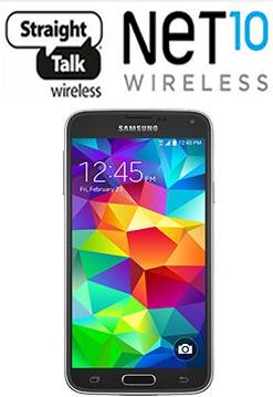 Straight Talk Galaxy S5 user manual / Guide