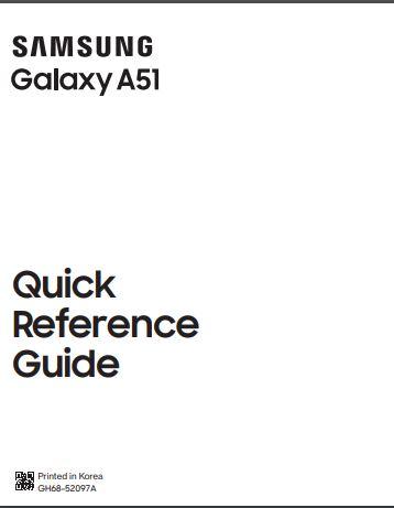 Tracfone Galaxy A51 SM-S515DL