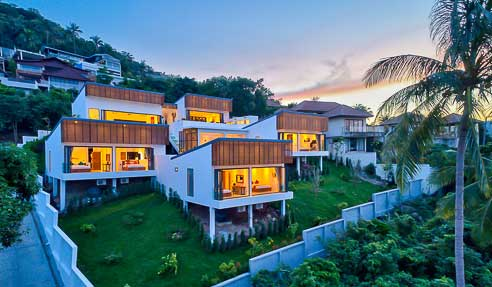 Hotel / Villa Kamelia – Beautiful Design – North Of Koh Samui – Bophut