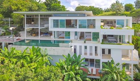 Villa Burberry – Luxury Villa – Sea View – South Of Koh Samui – Taling Ngam