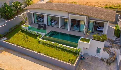Villa Marrite – Beautiful Design – North Of Koh Samui – Bophut