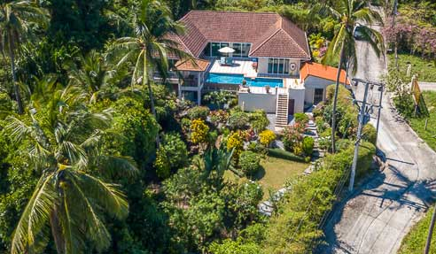 Villa Picasso – Beautiful Sea View – West Of Koh Samui – Taling Ngam