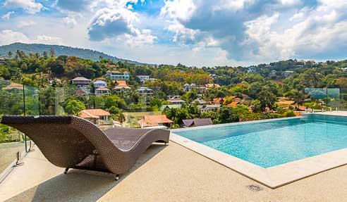 Villa Santi Valley – Sea View – North Of Koh Samui – Maenam