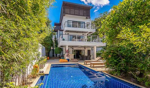 Villa Sanctuary – Private – North-West Of Koh Samui – Plai Laem