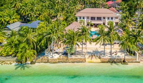 Hotel Villas / Apartments Tangerine – Beach Front Luxury Business – South Of Koh Samui – Taling Ngam