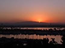 Sunrise San Diego Bay