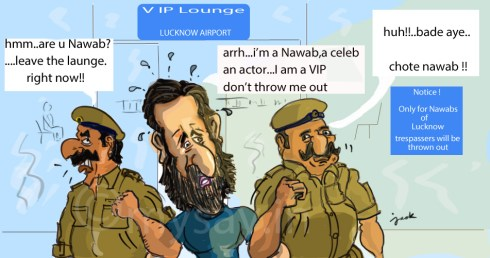 saif ali khan cartoon image,