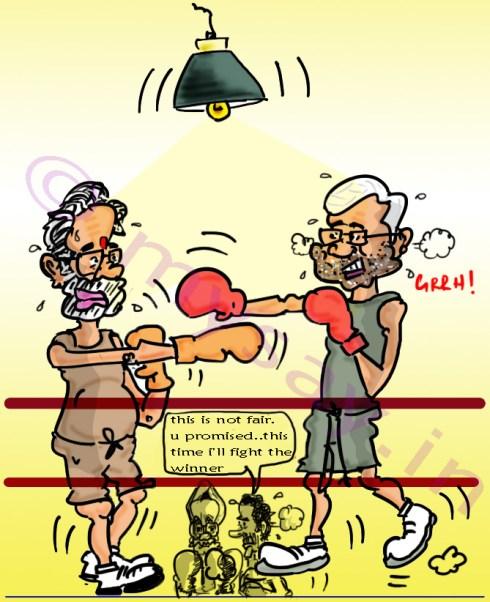 modi cartoon,nitish kumar cartoon,manmohan singh cartoon,rahul gandhi cartoon,