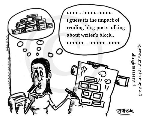 doodle,cartoons,mysay.in,writer's block,