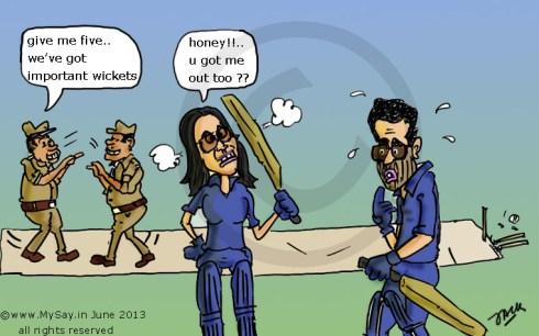 shilpa shetty cartoon,raj kundra cartoon,ipl betting cartoon,mysay.in