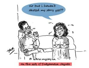 funny bollywood news,aamir khan cartoon image,satyameva jayate,mysay.in,