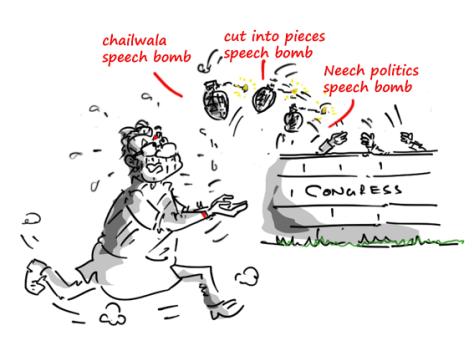 modi versus congress jokes,modi jokes,mysay.in congress jokes,