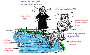 jokes on google,objectionable content on internet,funny cartoon jokes on google,