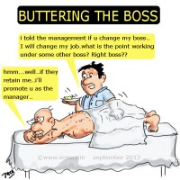 Butter Up the Boss ;)