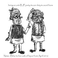 Cartoon | Bihar to ban alcohol but next year
