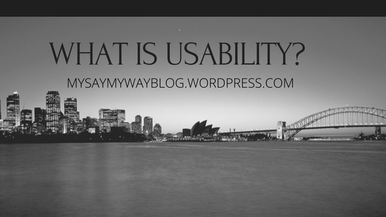 What is Usability?