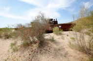 Uzbekistan - Aral Sea - Rusted Wrek