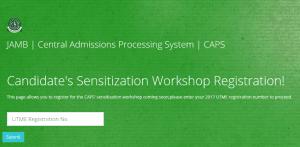 JAMB Organizes CAPS Sensitization Programme For Candidates