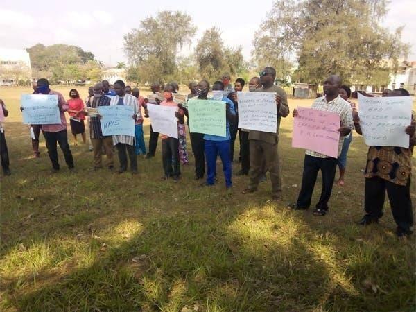 NASU, SSANU protest, calls for the sack of Ngige, Adamu