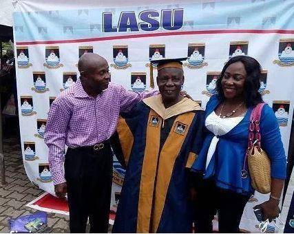 80-Year Old Man Bags Msc Degree from Lagos State University