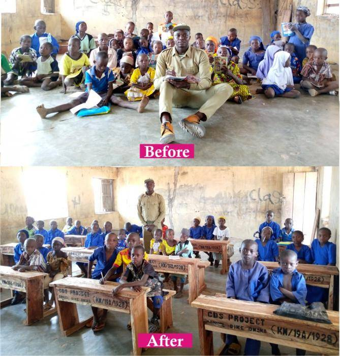 Corp Member Uses His Allawee to Execute 5 Community Projects in Kwara State