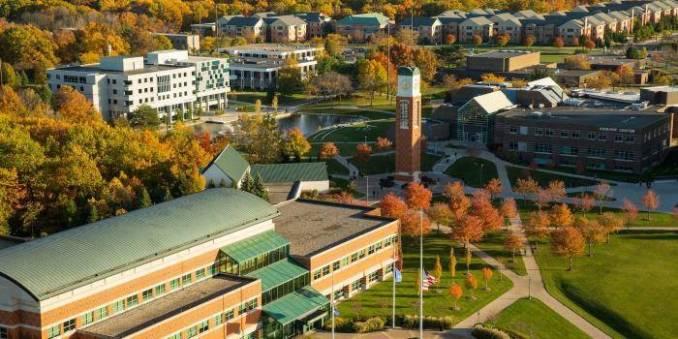2020 International Merit Award at Grand Valley State University, USA