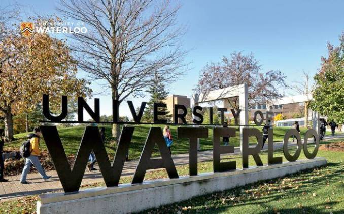 International Student Entrance Scholarships at University of Waterloo, Canada 2020