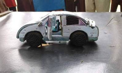 Meet SS1 Student Who Constructs A Moving Car