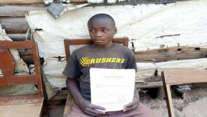 14-year-old boy offers to sell his kidney to pay his school fees