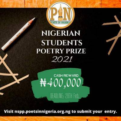Nigerian Students Poetry Prize (NSPP), 2021 edition