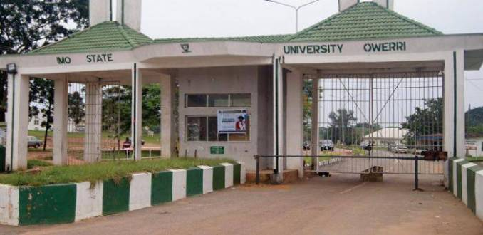 IMSU supplementary admission form for 2020/2021 session